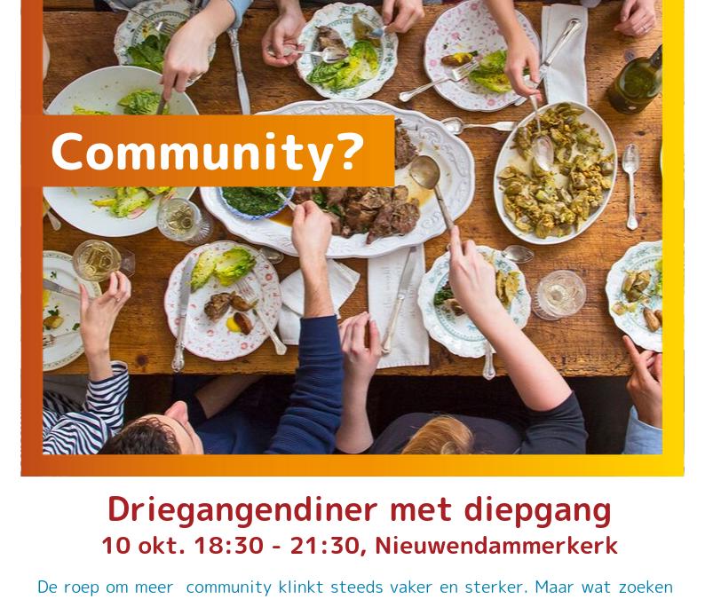 Community? Buurteditie Zinnig Eten